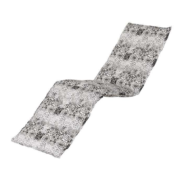 Gartenliegenauflage - Silk grau