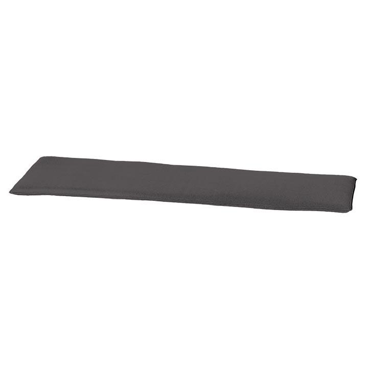 Auflage Bank 120cm - Outdoor panama grau