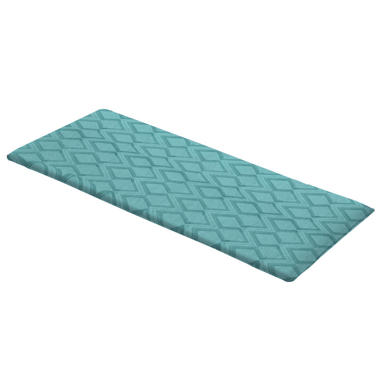 Auflage bank 140cm - Outdoor graphic sea blue