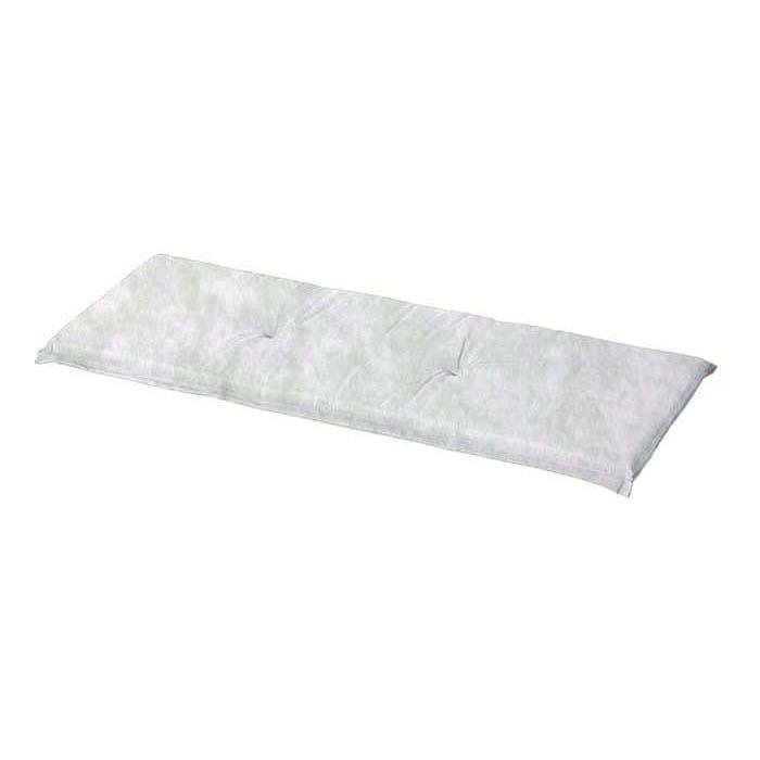 Auflage Bank 120cm - Panama micro grau