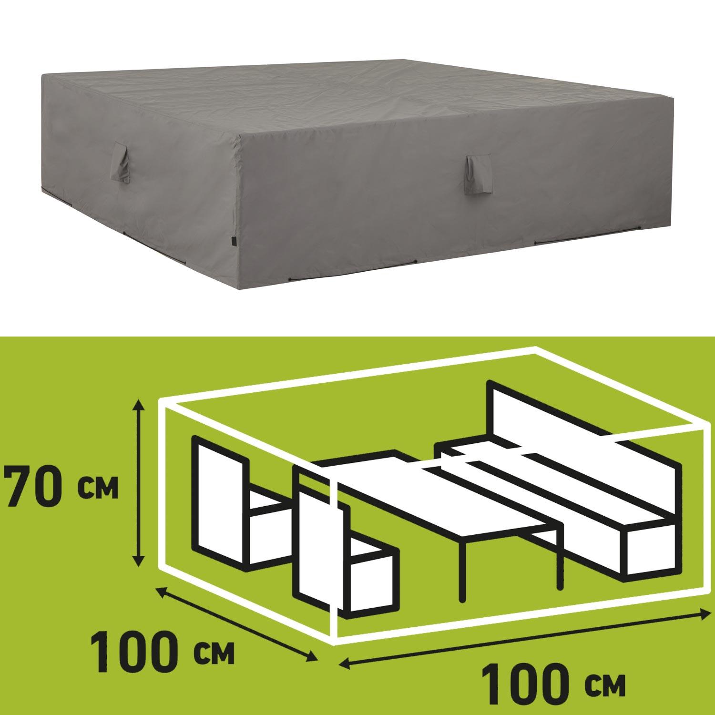 Schutzhülle Loungegruppe 100x100xH70cm