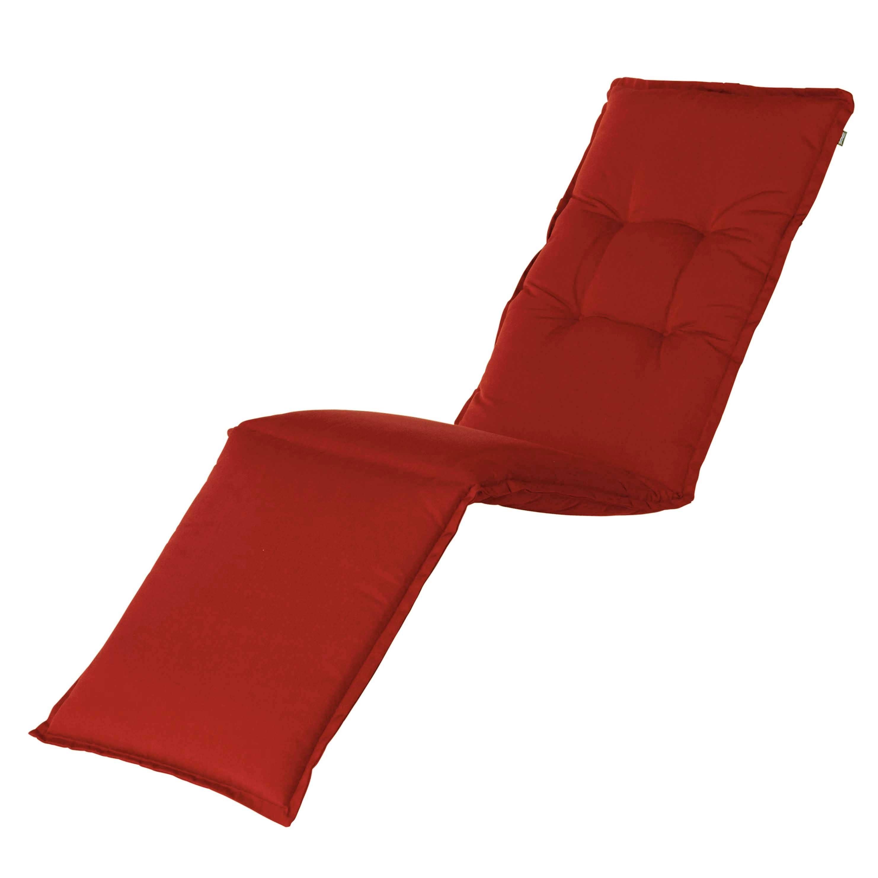 Auflage Deckchair - Havana Rot