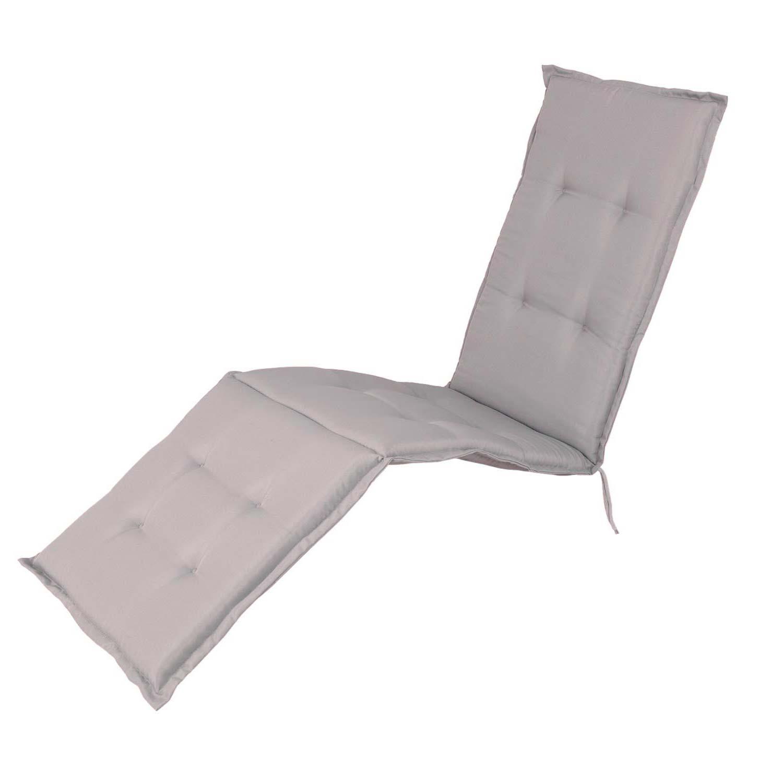 Auflage Deckchair - Pedro hellgrau (wasserabweisend)