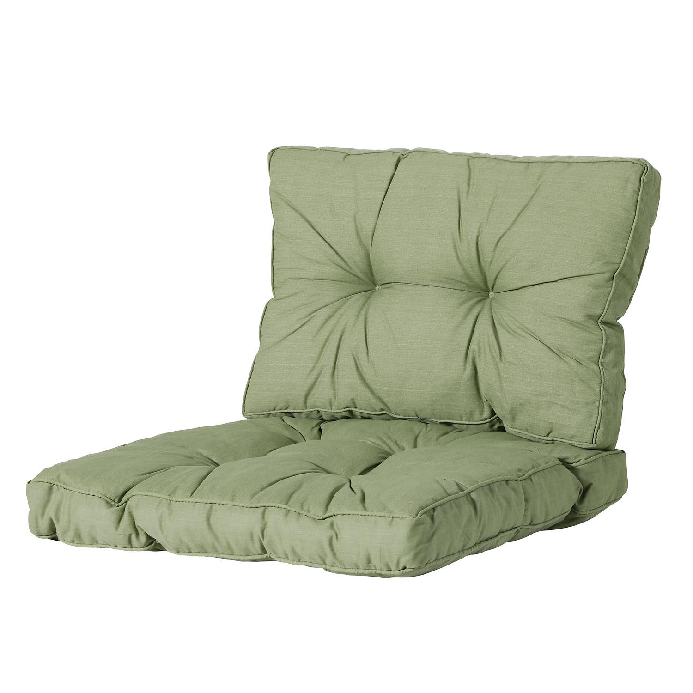 Loungekissen Sitz und Rücken 70x70 Florance - Basic grün