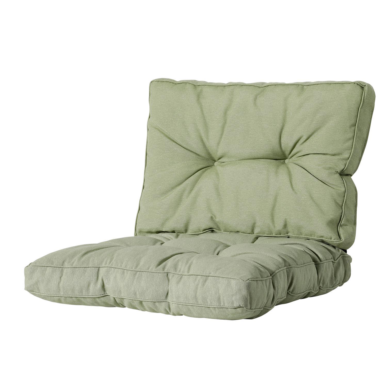 Loungekissen sitz und Rücken 70x70 Florance - Panama sage