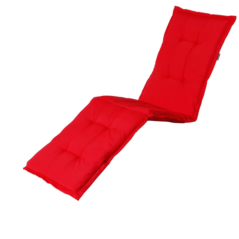 Gartenliegenauflage - Panama rot