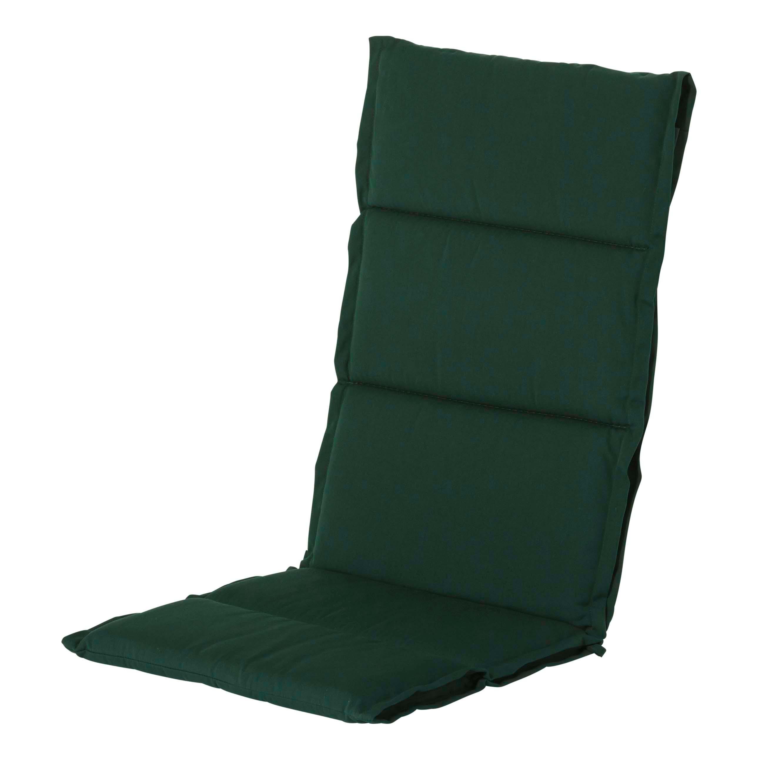 Auflage Hochlehner Dünn - Havana Grün