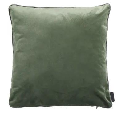Zierkissen 45x45cm - Outdoor Velvet/oxford grün