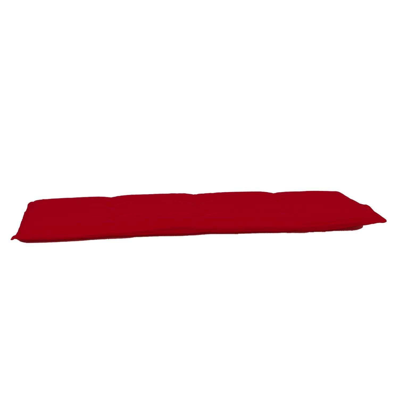 Auflage Bank 150cm - Pedro rot (wasserabweisend)