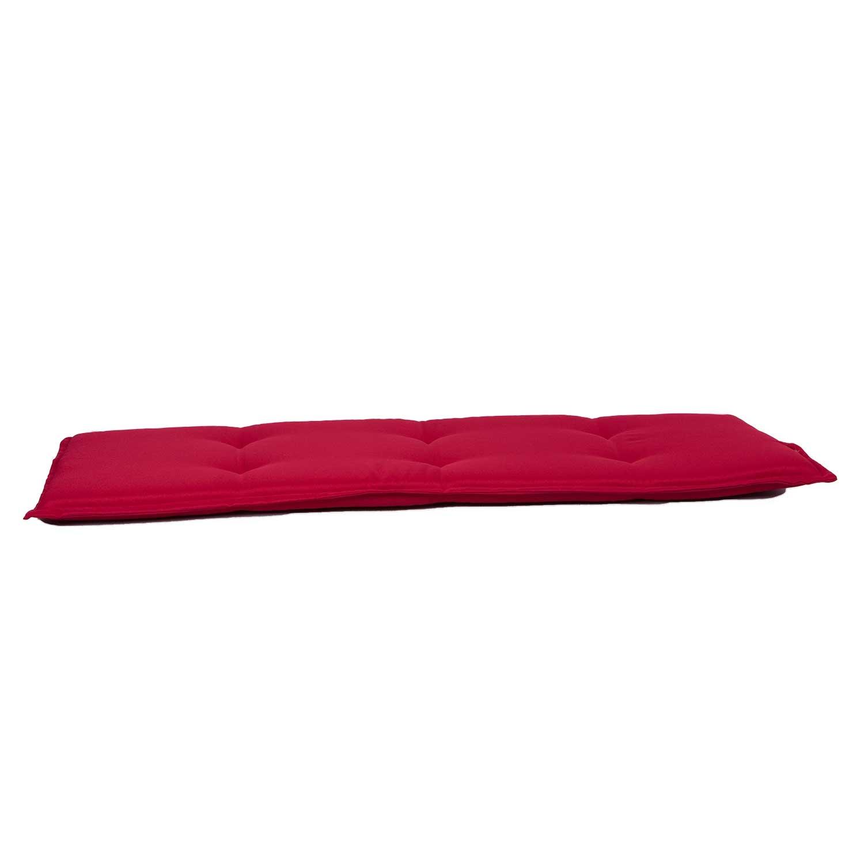 Bankauflage 160cm - Pedro rot (wasserabweisend)