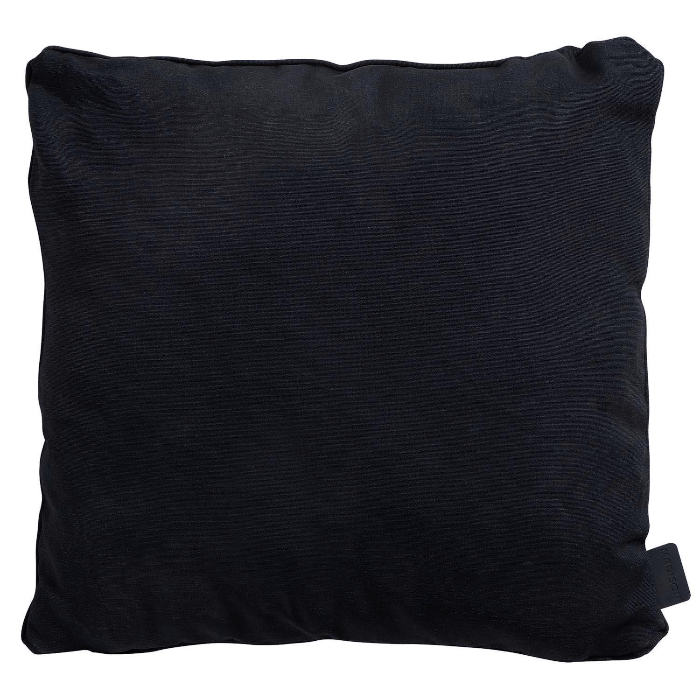 Zierkissen 45x45cm - Panama schwarz