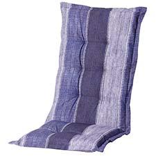 Auflage Hochlehner - Denim stripe blau