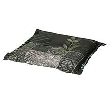 Hockerauflage 50x50cm - Nola grün