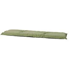 Auflage Bank 120cm - Basic grün