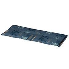 Auflage Bank 120cm - Bob blau