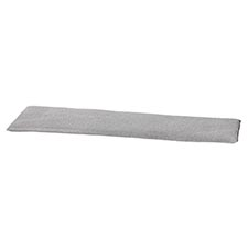 Auflage Bank 120cm - Outdoor Manchester light grau