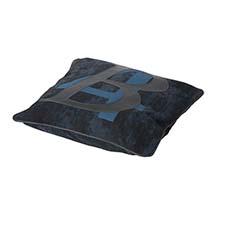 Zierkissen 50x50cm - B four blau