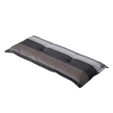 Bankauflage 120cm - Stripe grau