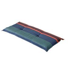 Bankauflage 120cm - Stripe blau