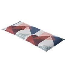 Bankauflage 120cm - Triangle blau