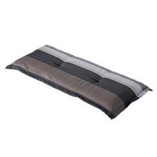 Bankauflage 150cm - Stripe grau