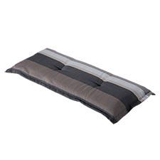 Bankauflage 180cm - Stripe grau