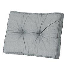 Loungekissen Rücken 70x40cm - Basic Grau