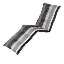 Gartenliegenauflage - Stripe grau