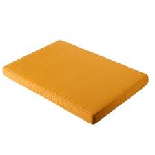Loungekissen pallet carre 120x80cm - Panama golden glow