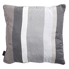 Zierkissen 50x50cm - Stripe grau