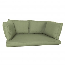palettenkissen Sitz/Arm/Rücken carré (120X80cm) - Panama sage