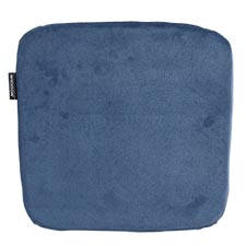 Sophie sitzkissen 40x40cm - Outdoor Velvet blau