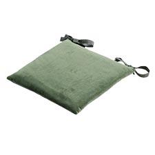 Sitzkissen Toscane 46x46cm - Outdoor Velvet/oxford grün