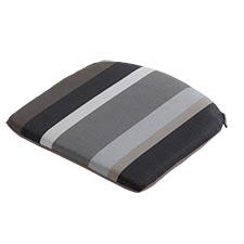 Sitzkissen - Stripe grau