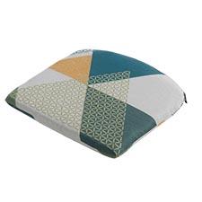 Sitzkissen - Triangle grün