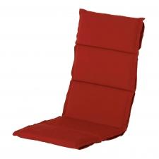Auflage Hochlehner Dünn - Havana Rot
