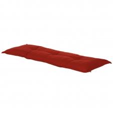 Auflage Bank 120cm - Havana Rot