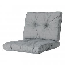 Loungekissen Sitz und Rücken 60x60 Florance - Basic Grau