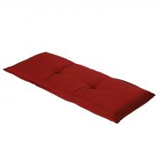 Auflage Bank - Rib rot 150cm