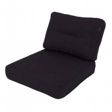 Loungekissen Sitz und Rücken 60x60cm - Havana Dunkelgrau