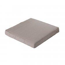 Loungekissen 60x60cm - Carre Basic taupe