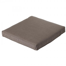 Loungekissen 60x60cm - Carre Oxford taupe