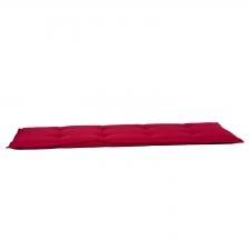 Auflage Bank 180cm - Pedro rot (wasserabweisend)