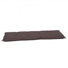 Auflage Bank 180cm - Pedro dark taupe (wasserabweisend)