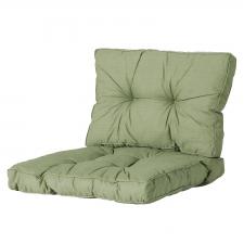 Loungekissen Sitz und Rücken 60x60 Florance - Basic grün