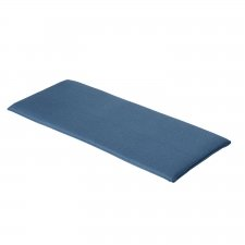 Auflage Bank 110cm - Outdoor Oxford blau