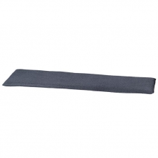 Auflage Bank 180cm - Outdoor panama Manchester denim grau