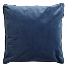 Zierkissen 45x45cm - Outdoor Velvet/panama safier blau