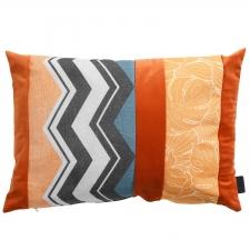 Zierkissen 60x40cm - Velvet match orange