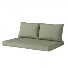 palettenkissen sitz und rücken Carré (120x80cm) - Panama sage